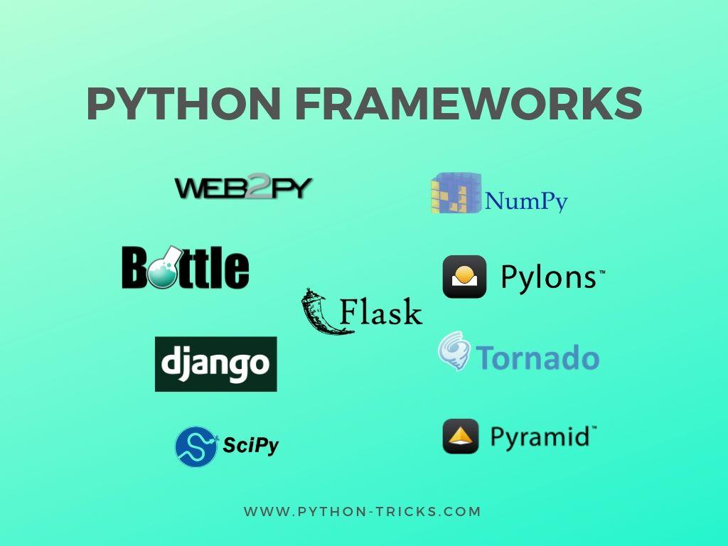 frameworks of python