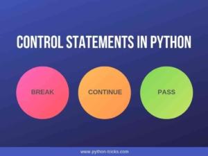 Control Statements in Python