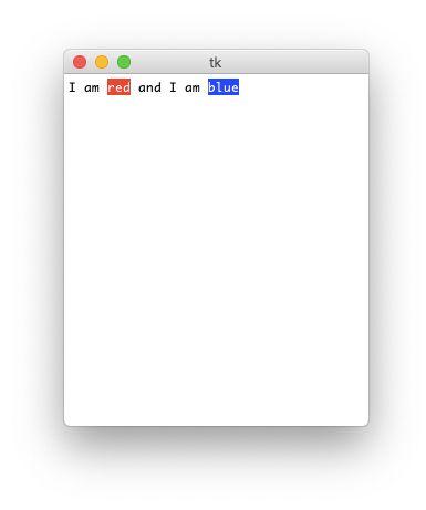 tkinter-text-widget
