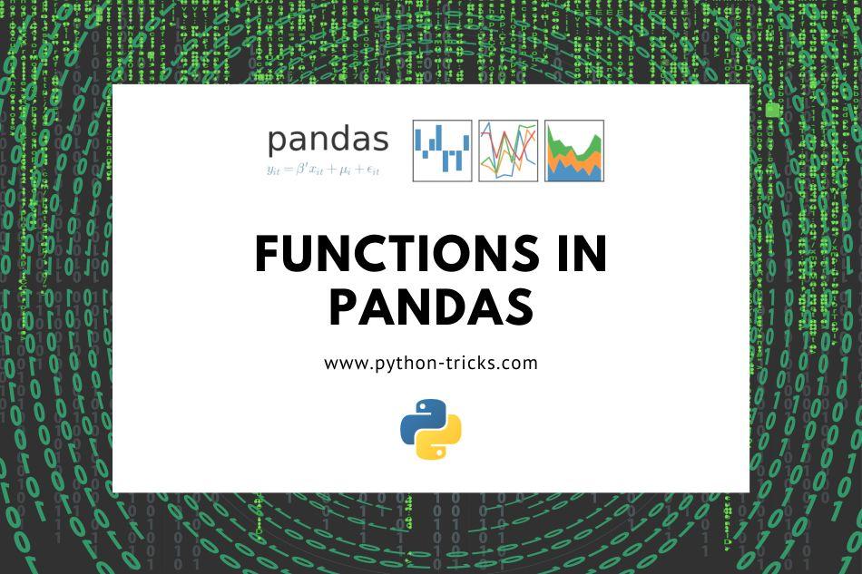 functions-in-pandas