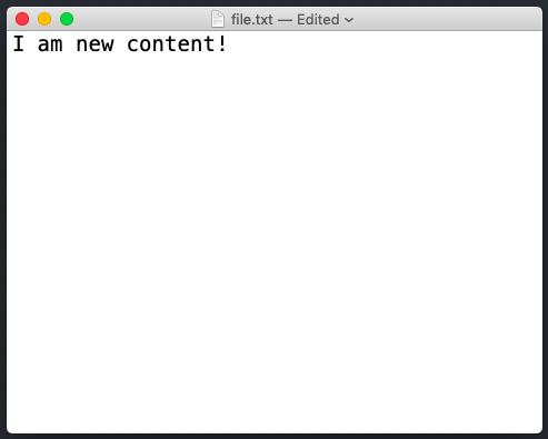 write file in node js