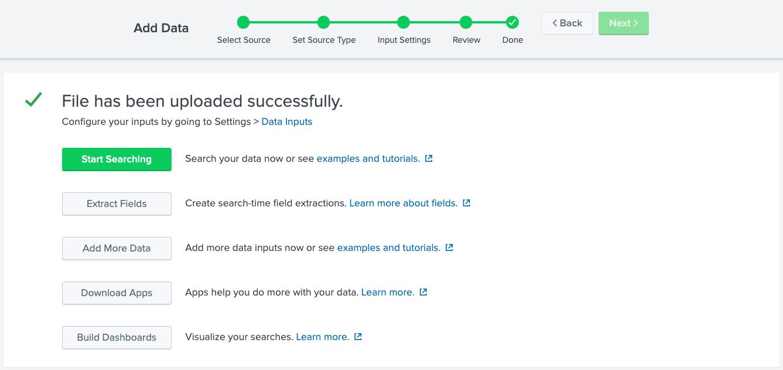 Data Ingestion Splunk