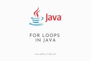 For Loops in Java