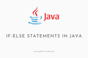 If Else Statements in Java